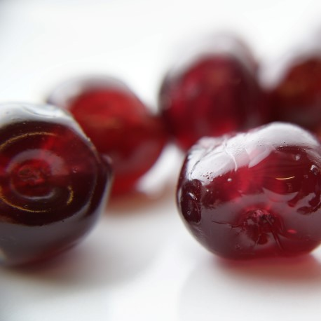 NATURALLY COLOURED GLACE CHERRIES