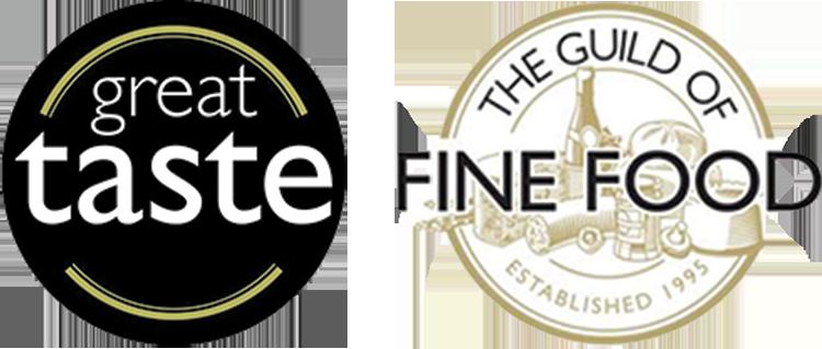 country great taste fine food logo