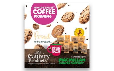 Country Products MacMillan Coffee Morning