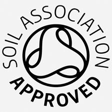 soil association approved logo